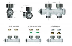 Racorduri de conectare radiatoare Henrad